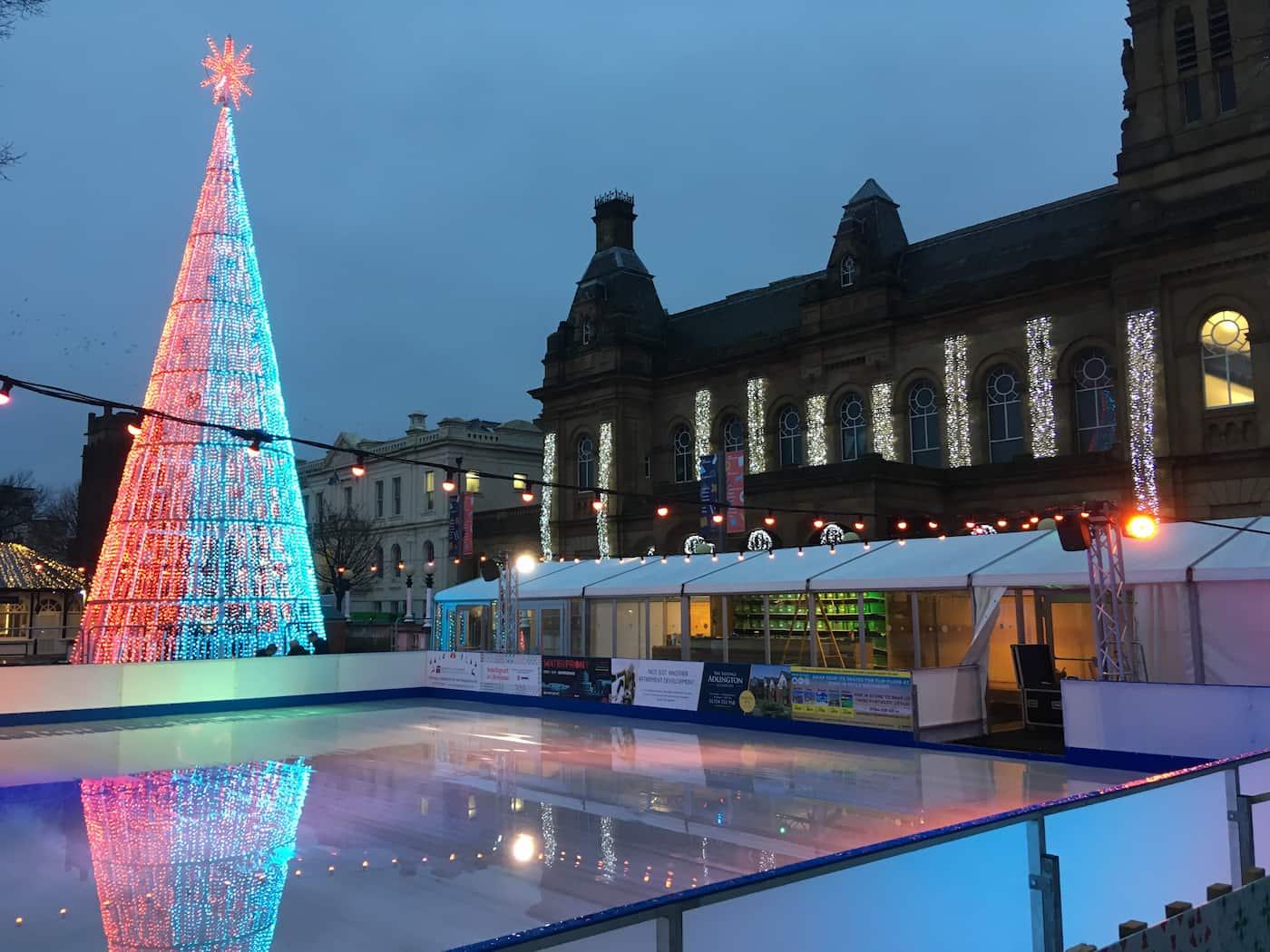Christmas, Ice Rinks & Ice Sculpture Experiences 11