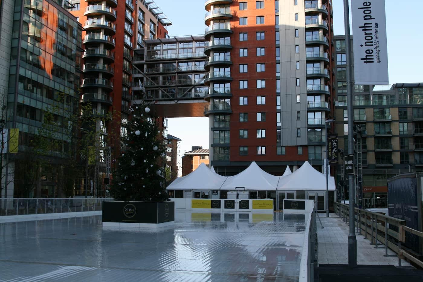 Christmas, Ice Rinks & Ice Sculpture Experiences 14