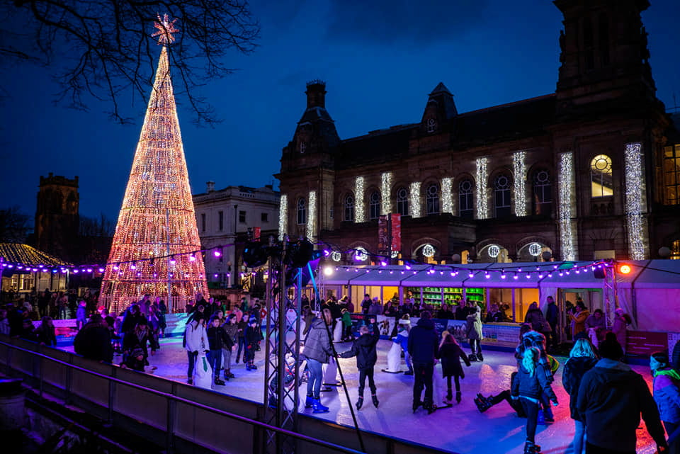 Christmas, Ice Rinks & Ice Sculpture Experiences 21